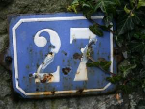 Entschuldigung, wo bitte ist Nummer 27?