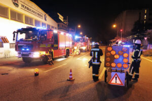 Feuerwehr stoppt CO2-Austritt